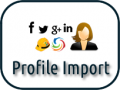 Profile import for CB & JomSocial